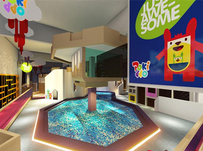 过了一定时期后,孩子的新鲜感会降低;儿童游乐场的目标客户是孩子图片